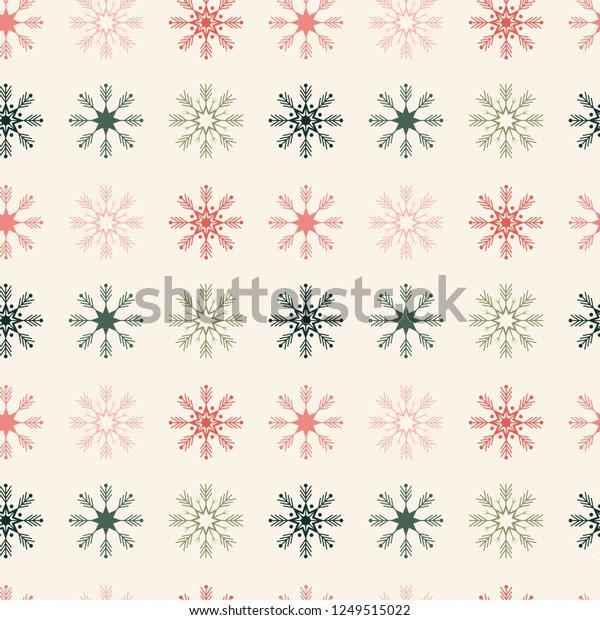 geometrically located snowflakes seamless pattern 600w 1249515022