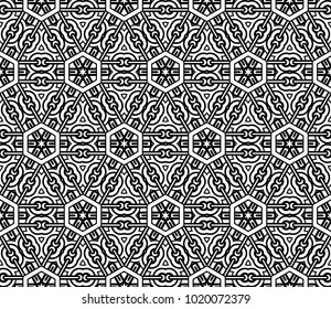 Geometry Background for Fabric, Packaging Paper, Tablecloth, Textile. vector