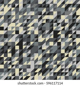 Geometry seamless background. Vector illustration in abstract style
