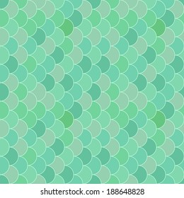 Geometry seamless vector pattern fish scale. Abstract mosaic background imitating fish scales