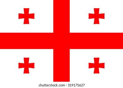 Georgia Nation Flag
