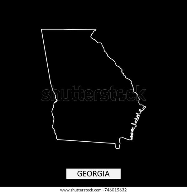 Georgia State Usa Map Vector Outline Stock Vector (Royalty ... on iowa map usa, michigan map usa, yale map usa, evansville map usa, akron map usa, houston map usa, indiana map usa, oklahoma map usa, connecticut map usa, alabama map usa, columbia map usa, wisconsin map usa, minnesota map usa, mississippi map usa, colorado map usa, missouri map usa, kentucky map usa, california map usa, nebraska map usa, tulsa map usa,