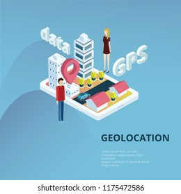 Gepolocation and gps