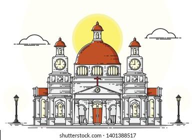 Semarang Stock Illustrations Images Vectors Shutterstock