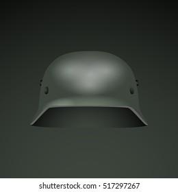 Old German War Helmet Stock Vectors, Images & Vector Art