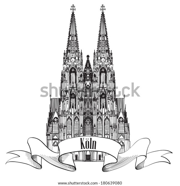 german city cologne travel symbol koln dom cathedral