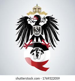 German Empire Flag QAnon Q WWG1WGA Movement