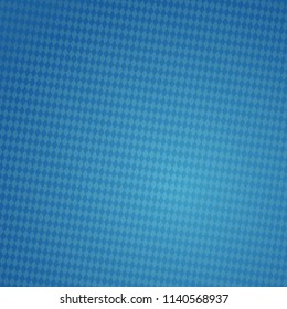 German Oktoberfest background with traditional blue checkered pattern