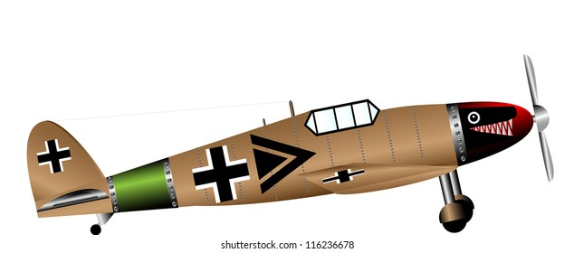 German Fighter Plane Images, Stock Photos & Vectors