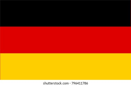Germany Flag country. Illustrator vector