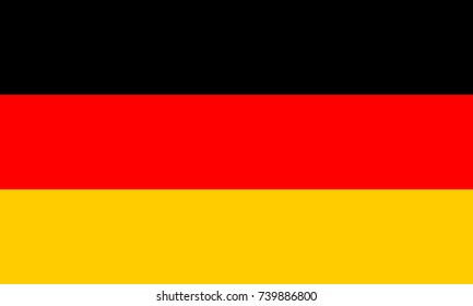 Germany flag, official colors and proportion correctly.