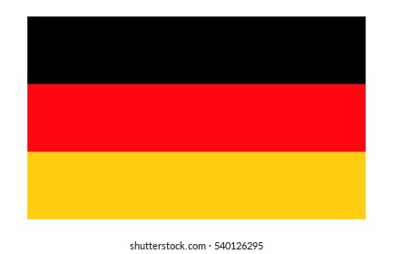Germany flag vector eps10.  German flag. Germany flag icon