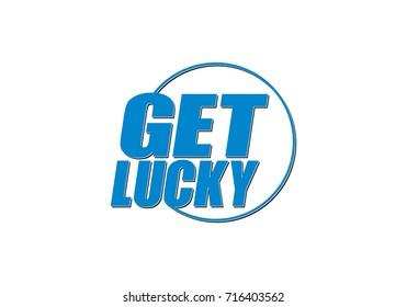 Get Lucky Logo