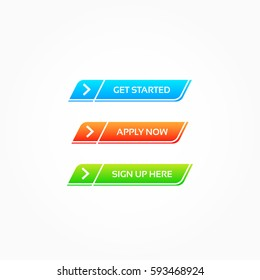 Get Started, Apply Now & Sign Up Here Buttons