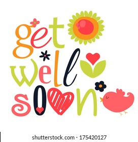 get well soon card images stock photos vectors shutterstock rh shutterstock com free get well card clipart get well soon clipart pictures