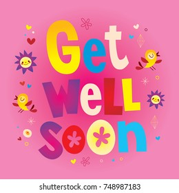 Get Well Soon Card Images Stock Photos Vectors Shutterstock