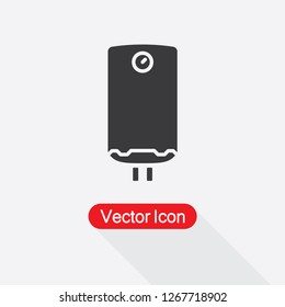 Geyser Icon,Boiler Icon Vector Illustration Eps10