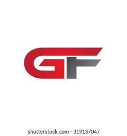 GF company group linked letter logo