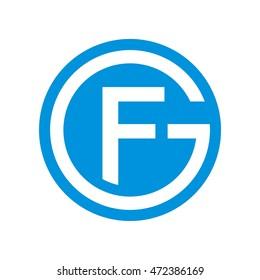 GF initial logo
