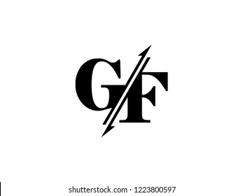 GF initials logo sliced