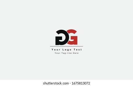 GG or GG letter logo. Unique attractive creative modern initial GG GG G G initial based letter icon logo