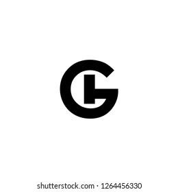 gh letter vector logo. hg letter vector logo