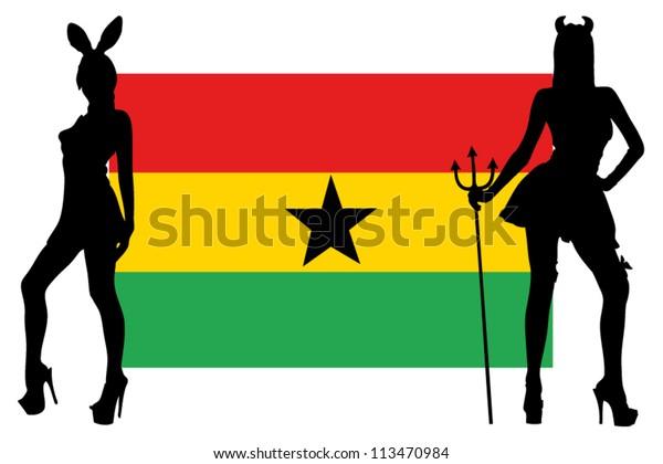 Ghana women sexy 90% Of
