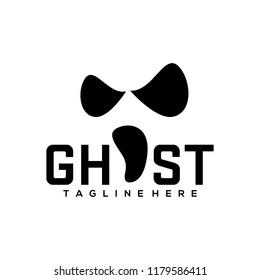 Ghost Logo Design Template