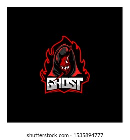 Ghost Gaming Logo Images Stock Photos Vectors Shutterstock