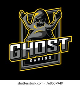 GHOST Mascot, Icon, and Game LOGO VECTOR