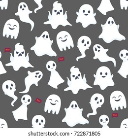 Ghost pattern background