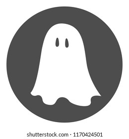 Ghost. Vector icon.