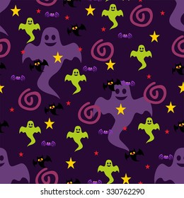 Ghosts and bats patterns.