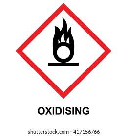 GHS hazard pictogram oxidising