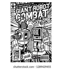Giant Robot Combat comic cover