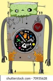 giant robot washing machine
