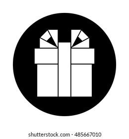 box circle icon long shadow flat のベクター画像素材 ロイヤリティ