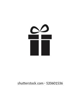 gift box, present, Christmas vector icon illustration, can be used for web and mobile design