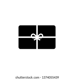 Gift card graphic design template vector isolated illustration