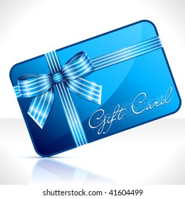 Gift Card. Vector Illustration