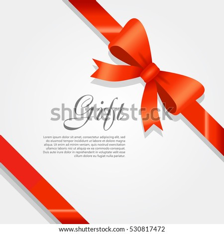 Gift Card Vector Illustration On White Stock Vector Royalty Free