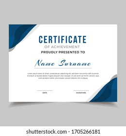 Gift certificate, diploma, template background, modern geometric design Vector illustration 10