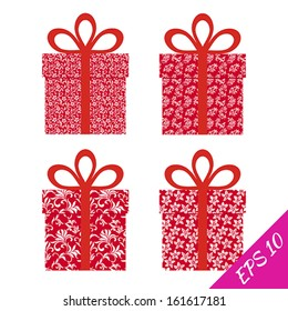 Gift Collection. Vector illustration