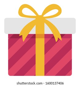 Gift Color Vector icon which can be easily modified or edit