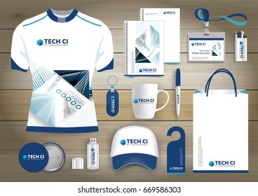 Gift items color promotional souvenirs design gift items business corporate identity vector abstract color promotional souvenirs design with origami elements for negle Images
