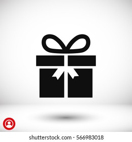 gift .line vector icon