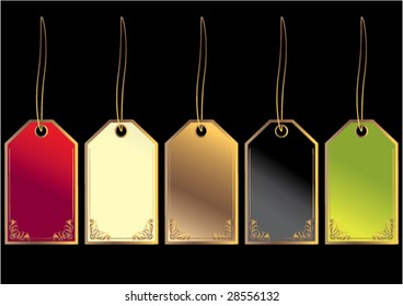 Gift Tags - vector
