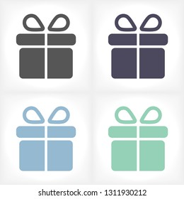 Gift vector icon