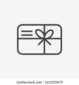 Gift vector icon. Best modern flat pictogram illustration sign for web and mobile apps design