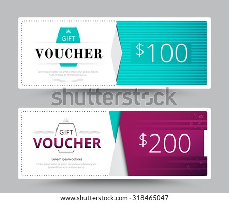 Gift voucher card business voucher template stock vector royalty gift voucher card business voucher template vector illustration accmission Image collections